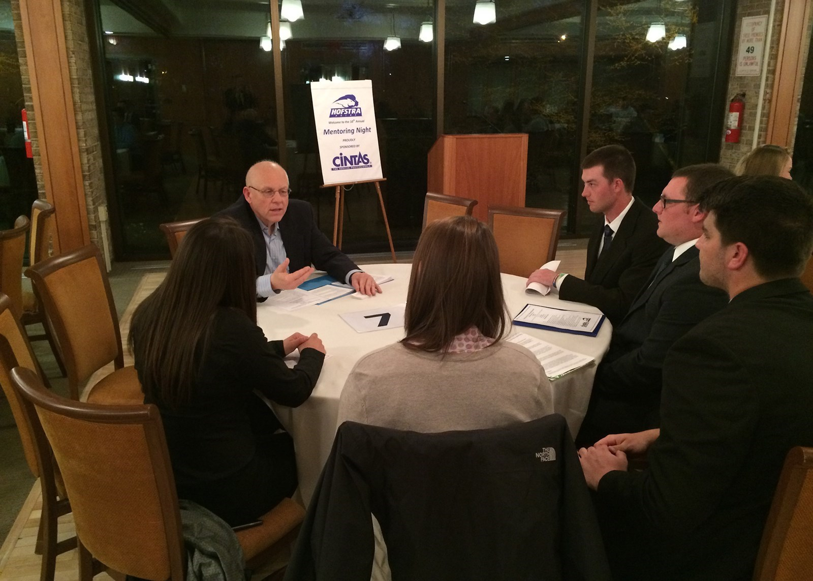 ATH: Hofstra Holds Mentoring Night In Conjunction With