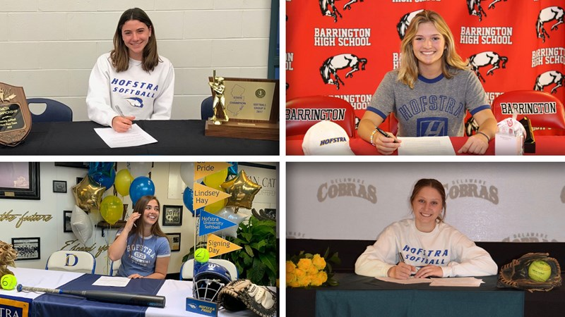 SB: Hofstra Softball Announces Four to NLI's - Hofstra